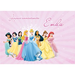 CADRE PHOTO PRINCESSES