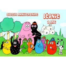 CADRE PHOTO BARBAPAPAS