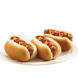 24 MINI HOT DOGS