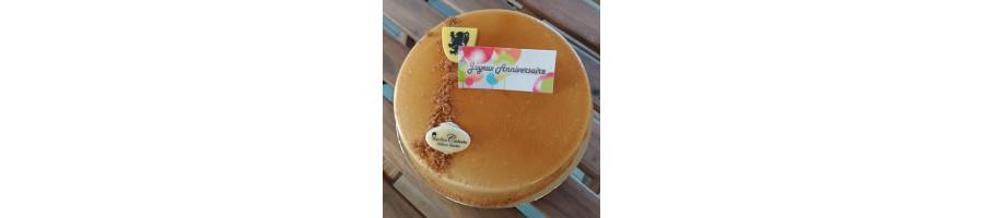 Personnalisation gâteau avec plaquette comestible