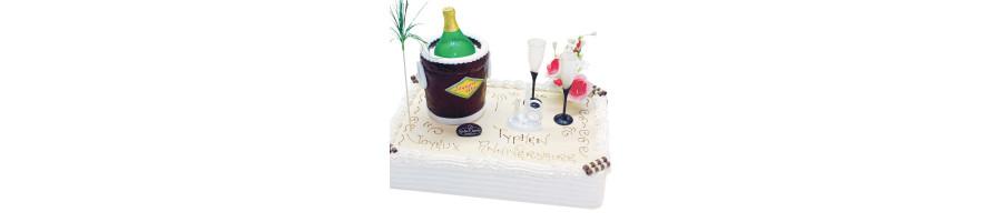 Gâteau avec photo pour anniversaire