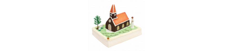 Gâteau glacé pour une Communion