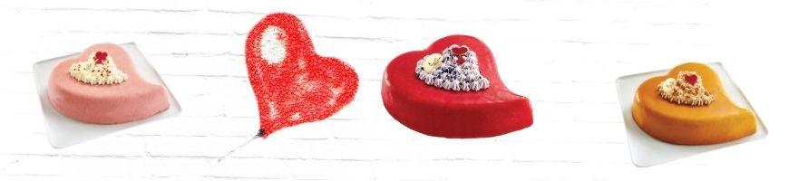 Comment découper nos gâteaux en forme de cœur ?